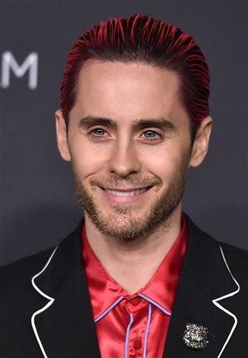 Jared Leto attends LACMA 2015 Art+Film Gala Honoring James Turrel, Presented by Gucci at LACMA on November 7, 2015