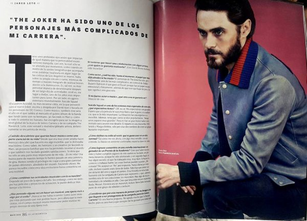 Jared Leto for GQ South America