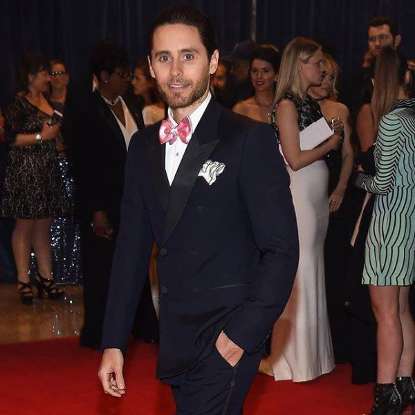 Jared Leto at the White House Correspondents' Dinner.