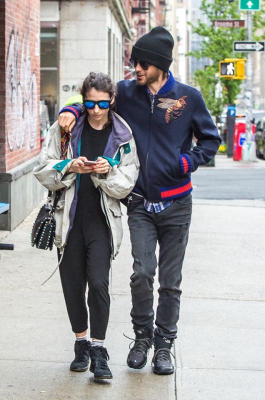 Jared Leto Terry Richardson & Alexandra Bolotow NYC 3 May 2016