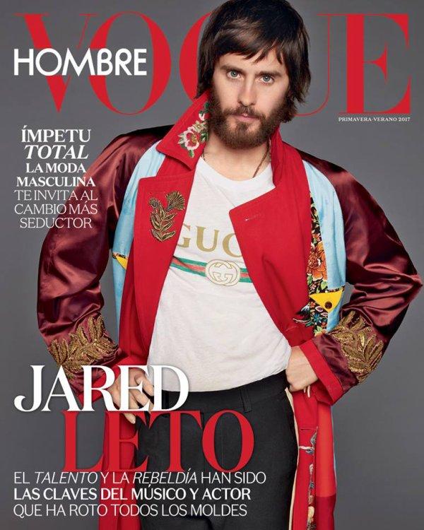 Jared Leto Vogue Mexique photos Terry Richardson