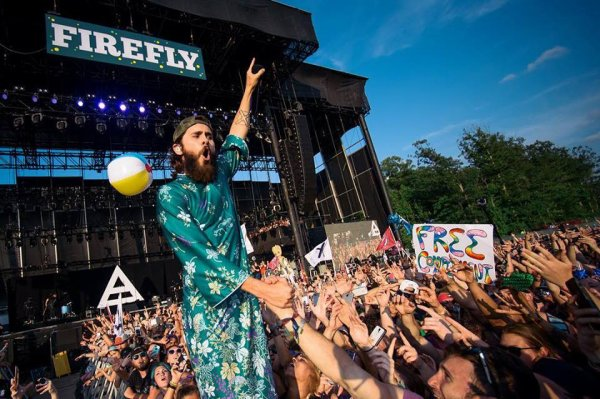 Thirty Seconds to Mars #Instagram Firefly Festival, 18 June 2017.