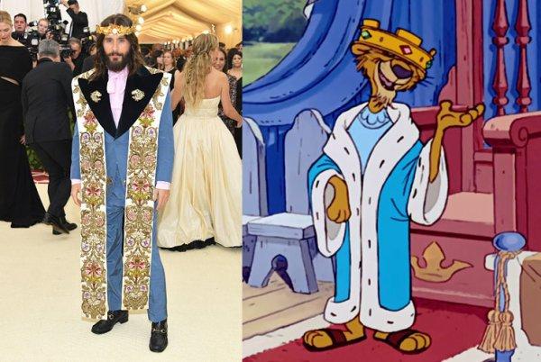 King Jared (Jesus) soirée Gucci 08.05.18