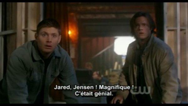 Dean Et Sam jouent Jensen et Jared