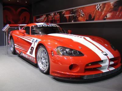 Viper coupé competion de 2003 (gt3)