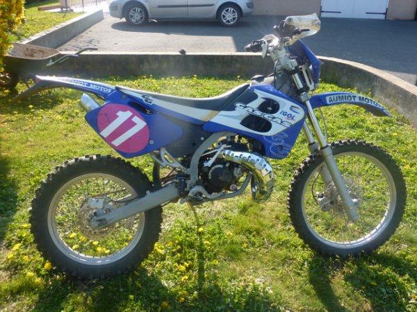 Mon ancienne GASGAS EC 75 Rookie 2001 Enduro 17 Chevaux