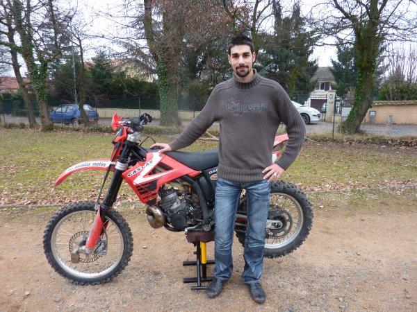Ma GASGAS EC 300 2008 Enduro 60 Chevaux
