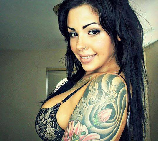 tatoo and sexy girl