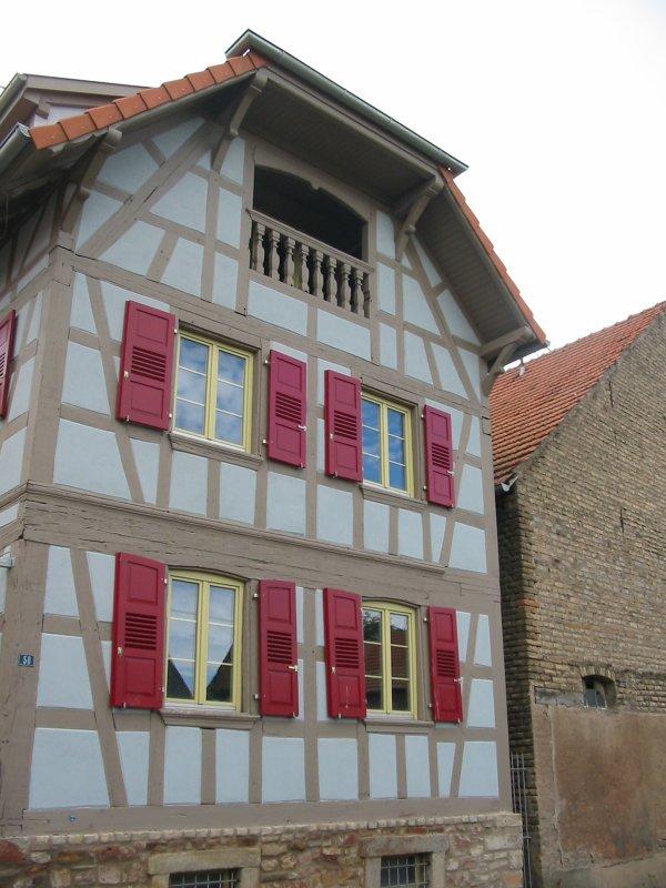 Quelques maisons alsaciennes