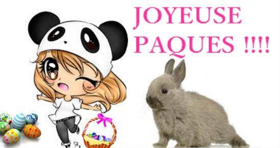 JOYEUSE PAQUES !!!!