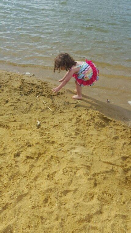 Petit après-midi à Tuffé plage
