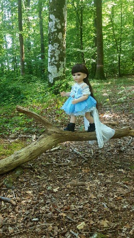 Au détour d'un chemin Gaïa a  rencontré une petite fée