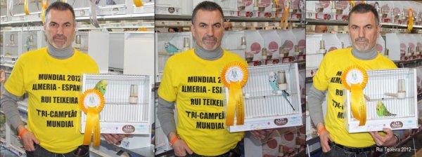 TRICAMPEÃO MUNDIAL 2012 (ALMERÍA-ESPANHA)
