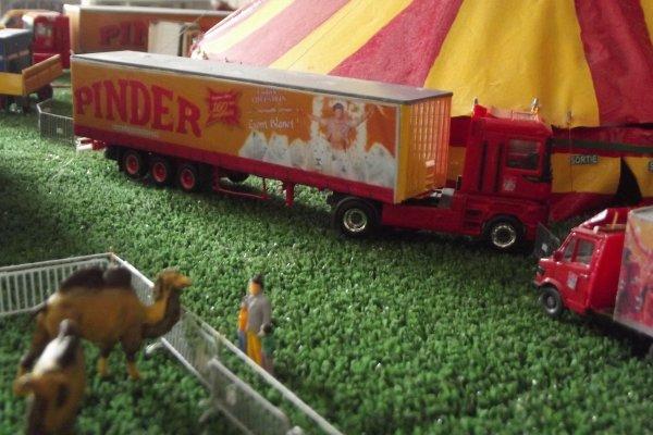 Nouveauté 2015 cirque Pinder 1/87