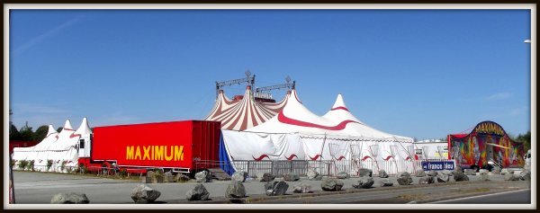 Cirque Maximum à La Roche sur Yon Septembre 2016