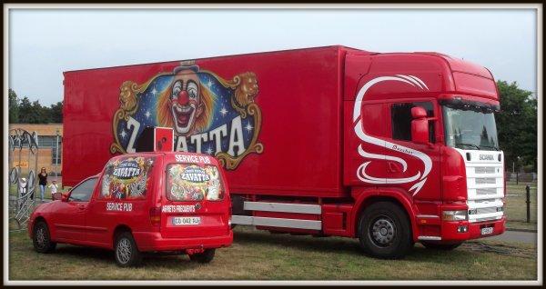 cirque Nicolas Zavatta à Sainte Luce sur Loire septembre 2016
