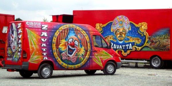 cirque Nicolas Zavatta à la Roche sur Yon octobre 2016