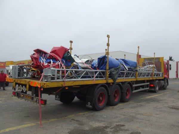 Arrivée cirque Pinder Poitiers février 2017 (5)