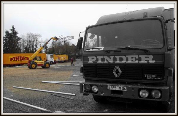 Montage cirque Pinder Poitiers février 2017 (2)