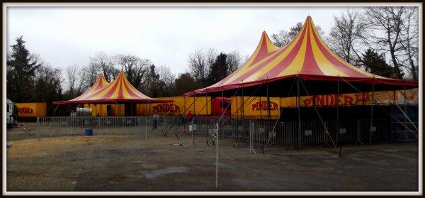 Montage cirque Pinder Poitiers février 2017 (4)