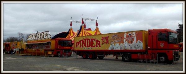 Montage cirque Pinder Poitiers février 2017 (8)
