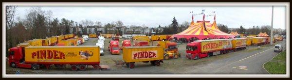 Montage cirque Pinder Poitiers février 2017 (9)
