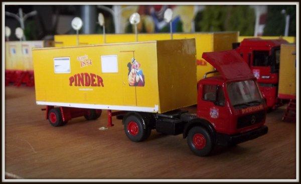Nouveauté maquette Pinder 1/87 : la couchette cubaine !!!!