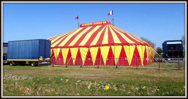 cirque Achille Zavatta à Luçon avril 2017