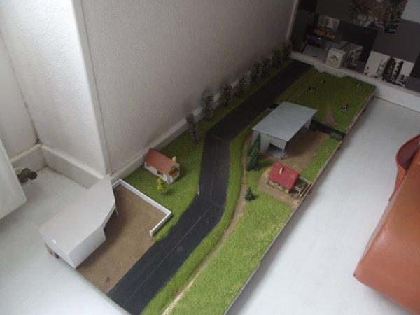 Création d'un diorama pour les convois du cirque Claudio ZAVATTA