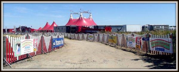 Le cirque Claudio Zavatta à la Tranche sur mer juillet 2017