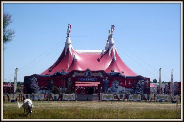Le cirque Claudio Zavatta à la Tranche sur mer juillet 2017 (4)