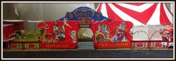 Nouveauté maquette cirque RIVALLI 1/87