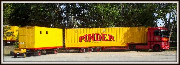 Arrivée du cirque Pinder à Saint gilles croix de vie août 2017 (4)
