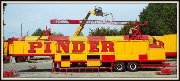 Arrivée du cirque Pinder à Saint gilles croix de vie août 2017 (7)