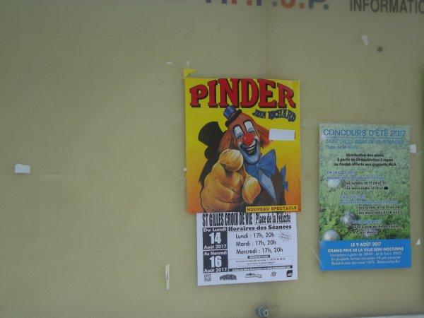 Arrivée du cirque Pinder à Saint gilles croix de vie août 2017 (13)