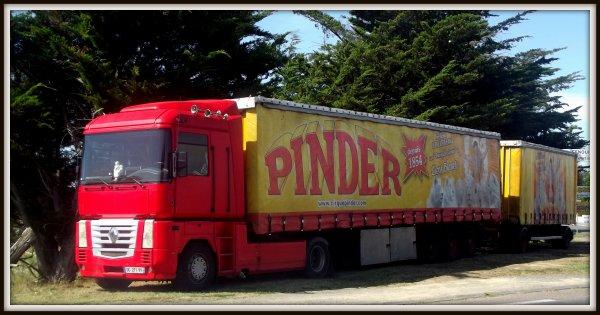 cirque Pinder  saint Gilles Croix de Vie août 2017