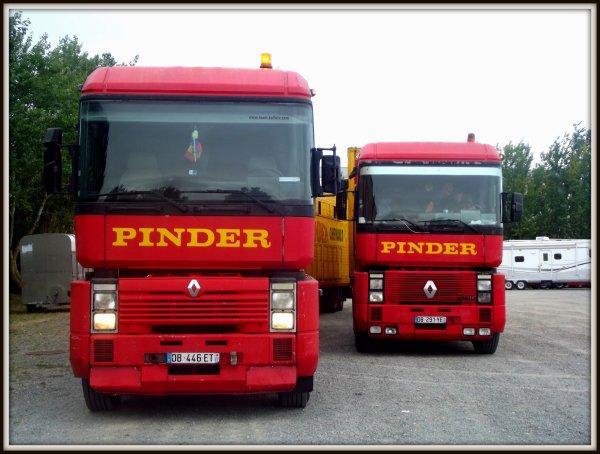 Arrivée du cirque Pinder aux Sables d'Olonnes août 2017
