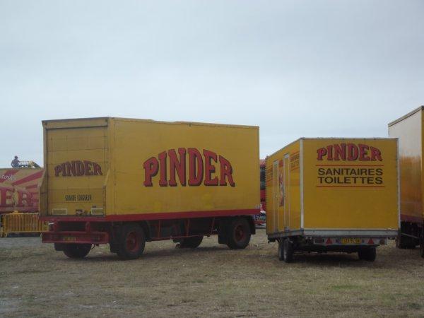 Arrivée du cirque Pinder aux Sables d'Olonnes août 2017 (5)
