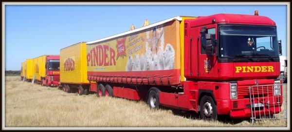 cirque Pinder à la Tranche sur mer août 2017