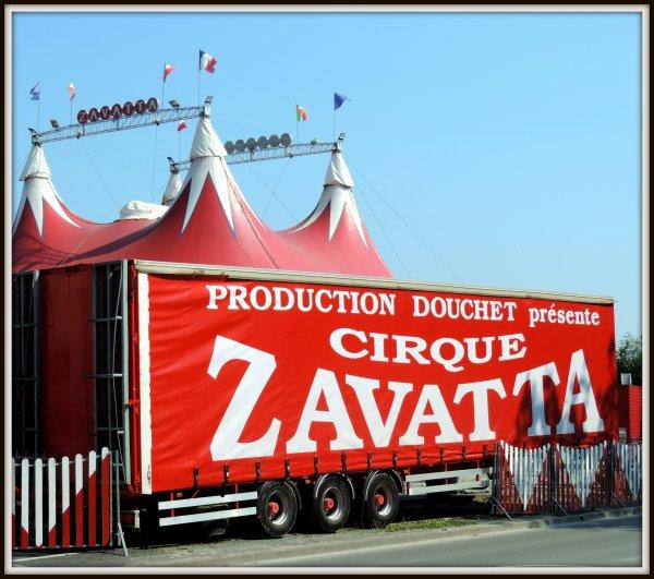 Cirque Claudio Zavatta et Nicolas Zavatta à la Roche sur yon mai 2018
