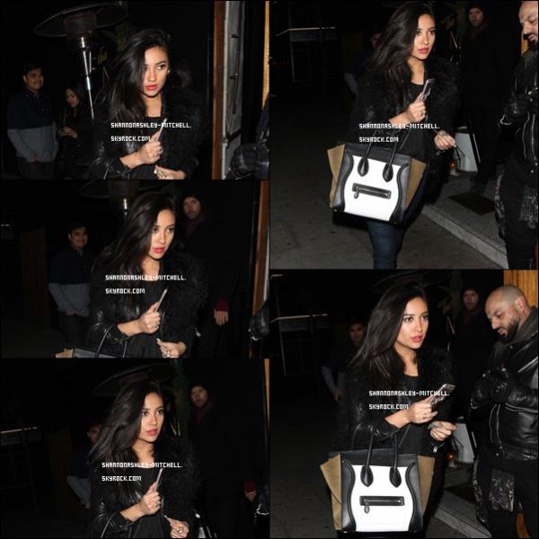.  ♦ Events:    Shay a été photographiée alors qu'elle quittait le Nice Guy club à West Hollywood. .