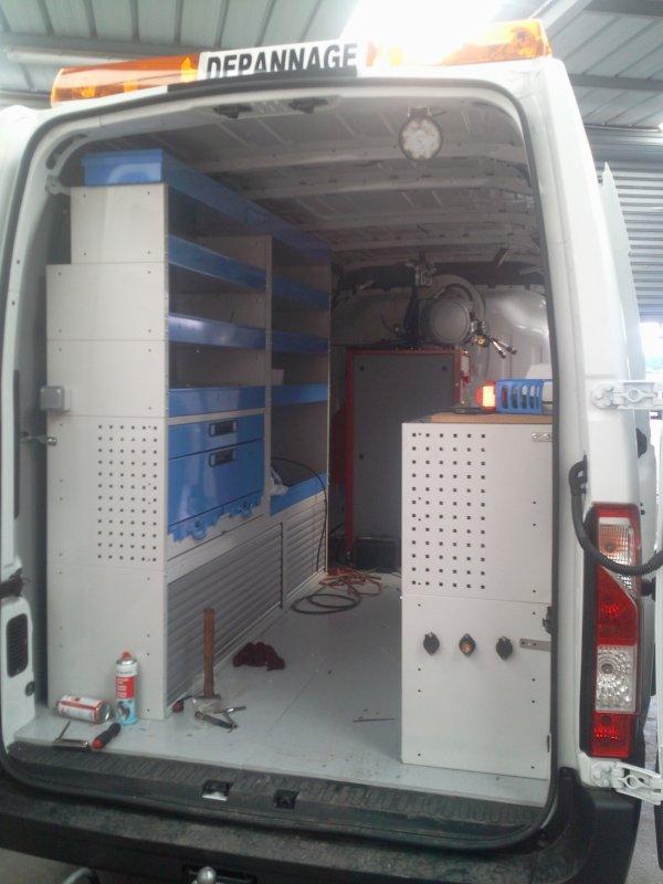 Nouveau Camion Atelier en préparation