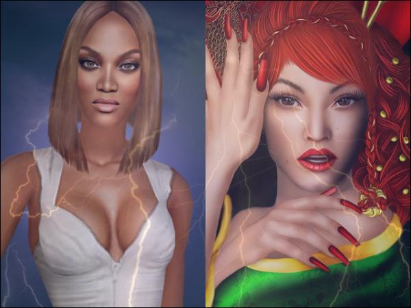 Sims Next TopModel et TopModel Asia sont-ils en concurrence ?