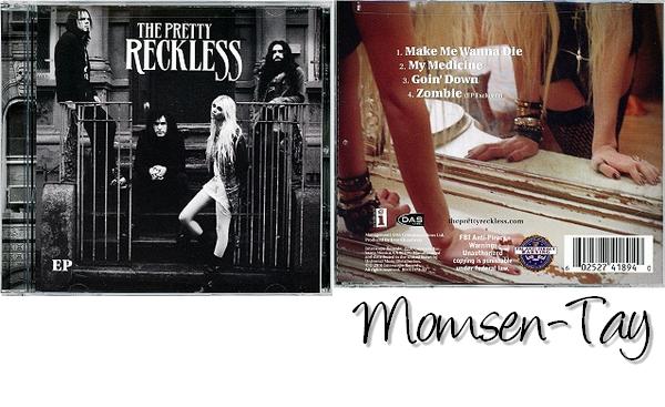 ;Le premier EP des Pretty Reckless est sorti aujourd'hui aux USA ! ;