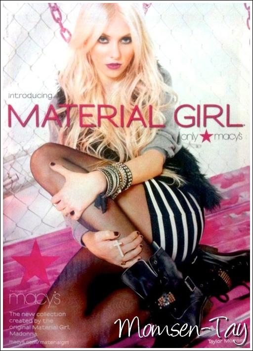 ;Devinez qui est le nouveau visage de la collection de Madonna ? ;
