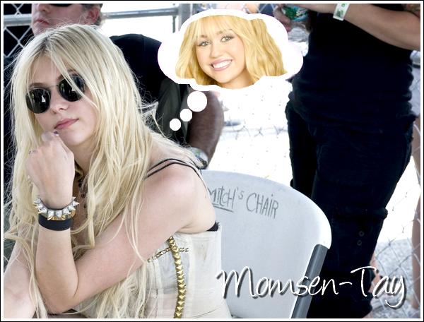 ;Momsen VS Cyrus : ROUND 2 Sauf que Taylor est la seule à se battre. ;