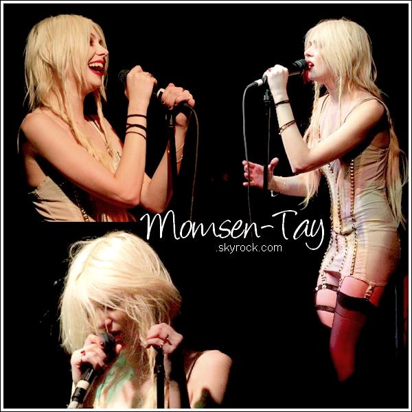sTaylor sur le Light Me Up Tour, avec une tenue de scène tellement originale... - San Diego, 13/02