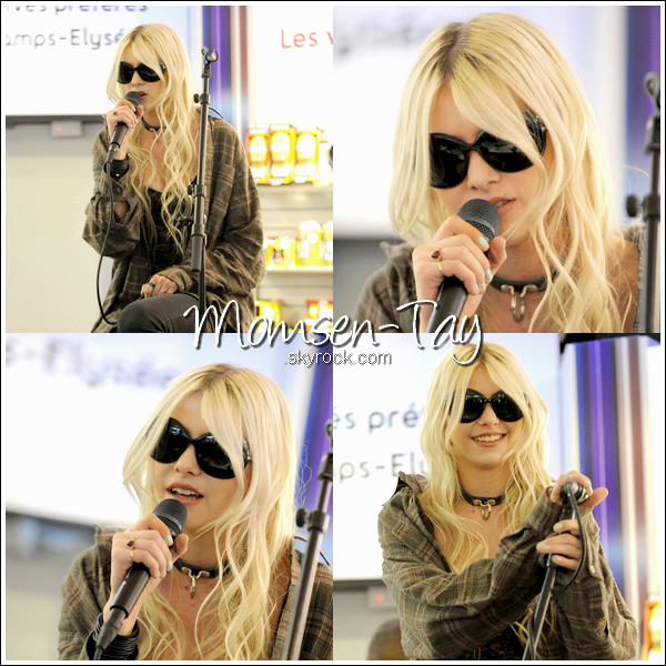 .The Pretty Reckless débarque en France !   (quatrième étape : showcase à Paris)