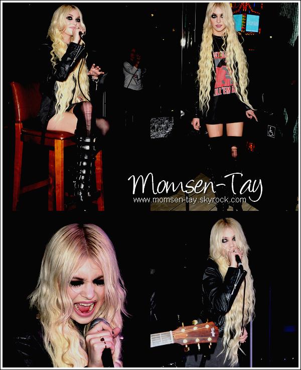 .Taylor & Ben ont donné un concert au Hard Rock Café à Los Angeles le 21 Avril