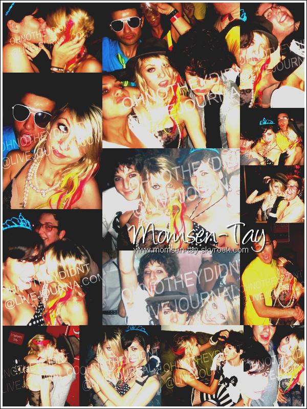 .A 15 ans, Miss Momsen savait faire la fête ! Photos personnelles de la fête d'anniversaire donnée par Taylor en 2008